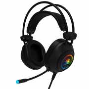 Headset Gamer Fortrek RGB Crusader Preto - 70555