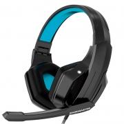 Headset Gamer K-MEX Gaming Master ARS32 P2 Preto/Azul - ARS3