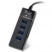 Hub Usb 4 Portas Knup Hb-T81 Usb 3.0 5 Gbps High Speed