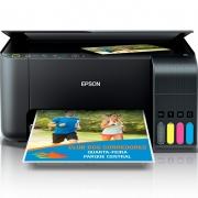 Impressora Multifuncional Epson L3150 Ecotank Jato de Tinta Wireless  - C11CG86302