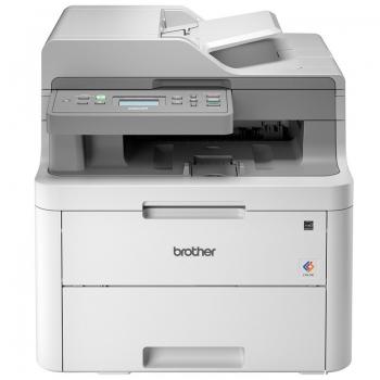 Impressora Multifuncional Laser Brother Colorida Dcp-L3551cdw 19ppm Wireless Rede Usb Toner Tn217 Tn223 Tn213