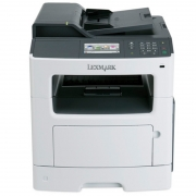 Impressora Multifuncional Laser Lexmark Mono Mx417de Duplex Rede Fax 40ppm
