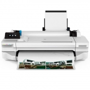 Impressora Plotter 24 Pols Hp Designjet T130 5zy58a#B1k E-Printer