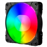Kit com 3 Cooler Fan RGB para Gabinete Redragon 120x25mm - GC-F007