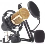 Kit Microfone Condensador Knup Kp-M0010