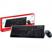 Kit Teclado E Mouse Com Fio Genius Km-125 31330209103
