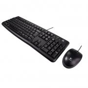 Kit Teclado E Mouse Com Fio Logitech Mk120 920-004429