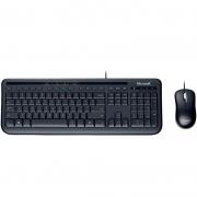 Kit Teclado E Mouse Com Fio Microsoft 600 Apb00005