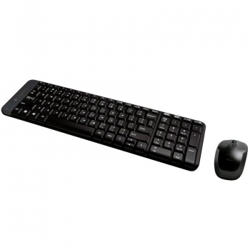 Kit Teclado E Mouse Sem Fio Logitech Mk220 920-004431
