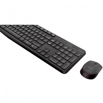 Kit Teclado E Mouse Sem Fio Logitech Mk235 920-007903