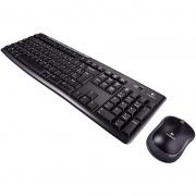 Kit Teclado E Mouse Sem Fio Logitech Mk270 920-004433