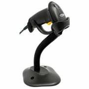 Leitor de Codigo de Barras Zebra LS2208 USB C/ Suporte Preto