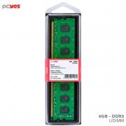 Memoria Ddr3 4gb 1600Mhz PCYes - PM041600D3