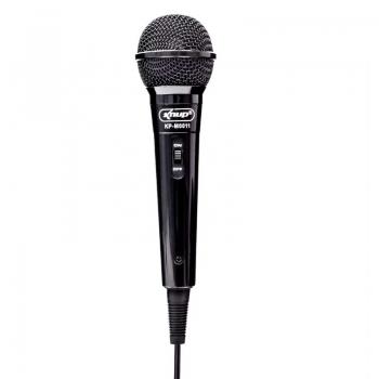 Microfone Com Fio Alta Definicao Knup Kp-M0011
