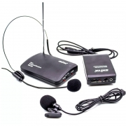 Microfone Sem Fio Auricular E Lapela Shiya Gt432