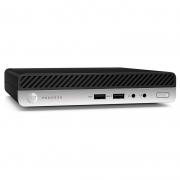Mini Computador Hp Prodesk 400 G5 Dm Core I5-9500t 8gb 500gb Win10 Pro Teclado E Mouse - 9LF15LA#AC4