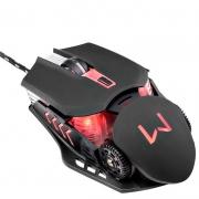 Mouse Gamer Usb Warrior Keon Preto 3200dpi Mo267