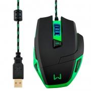 Mouse Gamer Usb Warrior Macro 3200dpi Mo245