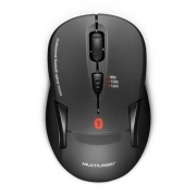 Mouse Sem Fio Bluetooth 3.0 Multilaser Mo254 Preto 1600dpi