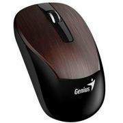 Mouse Sem Fio Genius Eco-8015 1600 Dpi Chocolate 31030007404 Bateria Recarregável
