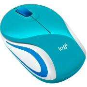Mouse Sem Fio Logitech M187 Aqua 910-005363