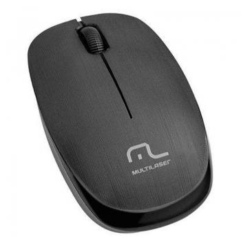 Mouse Sem Fio Multilaser Mo251 Preto 1200dpi