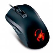 Mouse Usb Gamer Genius X-G600 1600dpi 31040035100 5 Botões Programáveis
