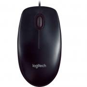 Mouse Usb Logitech M90 Preto Piano 910-004053