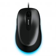 Mouse Usb Microsoft Comfort 4500 5 Botoes Preto/Cinza 4fd00025