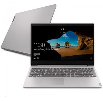 Notebook Lenovo Ultrafino Ideapad S145 I5-8265u 4gb 1tb Win10 15.6 Pols 81s90006br Prata