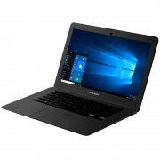 Notebook Multilaser Legacy Pc120 Atom 2gb 32gb Mmc Win10 14 Pols Preto