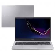Notebook Samsung E20 Celeron 5205U 4gb 500gb Win10 Home 15.6 Pols Prata - Np550xcj-ko1br