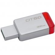 Pen Drive 32gb Kingston  Datatraveler 3.1 Metal Vermelho - Dt50/32gb