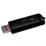 Pen Drive 64gb Kingston Datatraveler 2.0 Preto Dt104/64gb