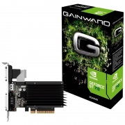 Placa De Video 2gb Ddr3 Gainward Gt710 Geforce Neat7100hd46-2080h 64bits 800mhz Dvi Hdmi Vga