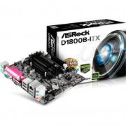 Placa Mae Asrock Intel Celeron J1800 D1800b-Itx