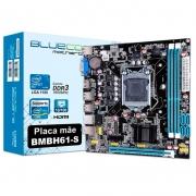 Placa Mae Bluecase Bmbh61-S Ddr3 16gb Vga Hdmi Socket 1155 Box