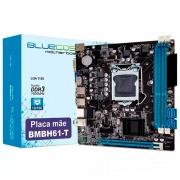 Placa Mae Bluecase Bmbh61-T Ddr3 16gb Vga Hdmi 10/100/1000 Socket 1155 Box