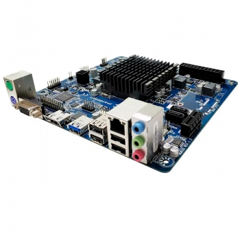 Placa Mae Pcware Ipx1800g2, Intel Dual Core Celeron 2.41ghz Hdmi Rede Gigabyte