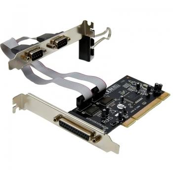 Placa Pci 2 Portas Serial e 1 Paralela Multilaser - GA129