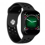 Smart Watch International Bluetooth F8 Fitness Heart Rate Preto