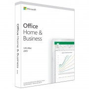 Software Office 2019 Home And Business 32-64 Bits T5d-03241 Caixinha C Midia - Outlook Word Excel Powerpoint Onenote