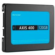 Ssd 120gb Multilaser Ss101 Axis400 430mb/s leitura 400mb/s gravação
