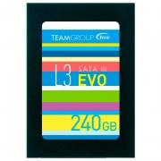 Ssd 240gb Team Group T253le240gtc101 L3 Evo 530mbps