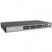 Switch Gerenciavel 24 Portas Fast Ethernet 10/100 Mbps + 04 Portas Gigabit + 02 Mini-Gbic Intelbras Sf2842mr