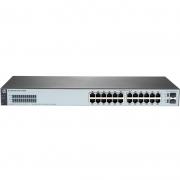 Switch Gigabit 24 Portas 10/100/1000 Mbps Rj45 +2x 1g Sfp Hpe Aruba 1820 24g J9980a