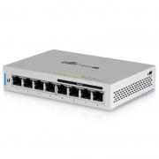 Switch Gigabit Poe 8 Portas 10/100/1000 Mbps Ubiquiti Unifi Us-8-60w