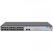 Switch Hp Gigabit 24 Portas 10/100/1000 Mbps 1420-24g-2sfp Jh017a