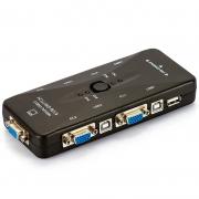 Switch Kvm Vga 4 Portas Newer - 2.0 Kvm Switch