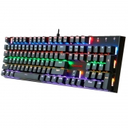 Teclado Gamer Mecanico Redragon Rudra RGB Rainbow Abnt - K565 R-1